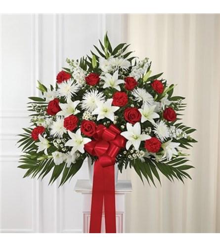 Basket- Red & White