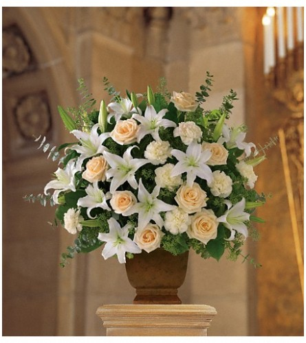 Loving Lilies & Roses Basket