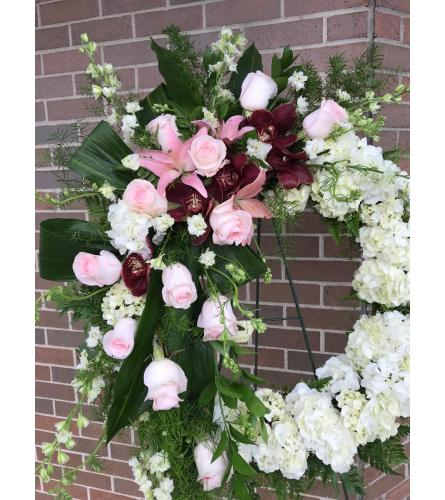 Peaceful Thoughts Sympathy Wreath