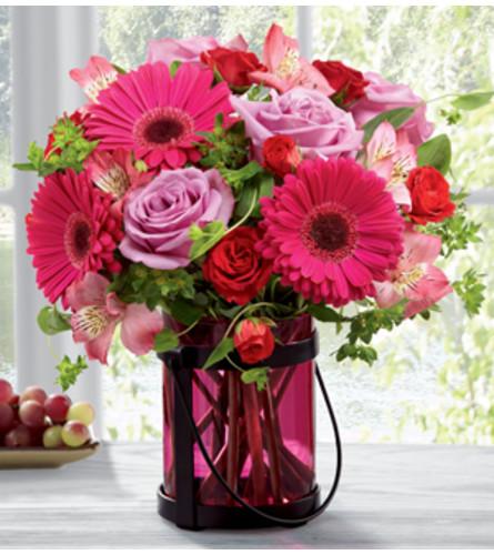 The Exuberant Pink Bouquet