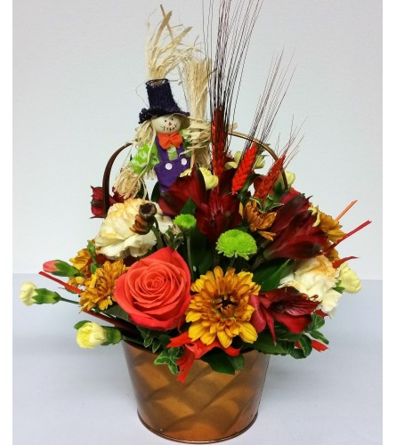 Scarecrow and More Basket