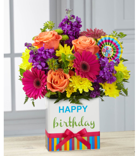 Birthday Bright Bouquet
