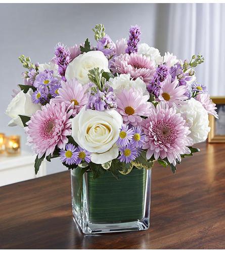 Healing Tears - Lavender & White