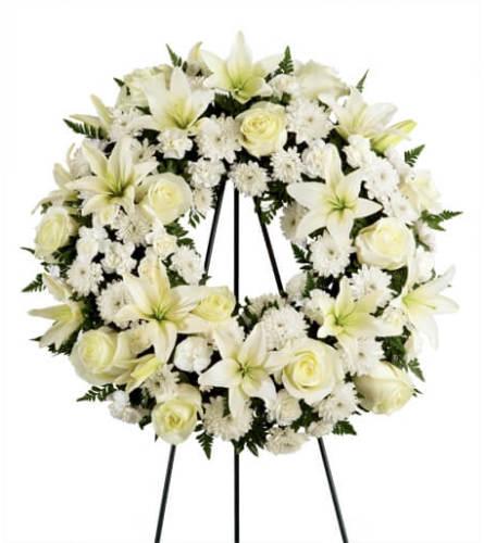 Angelic Tribute Wreath