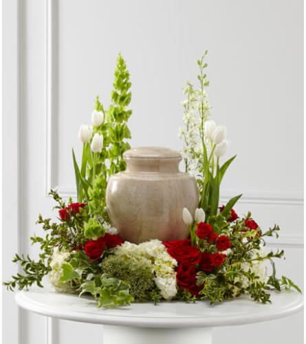 Our Tears of Comfort Urn Arrangement