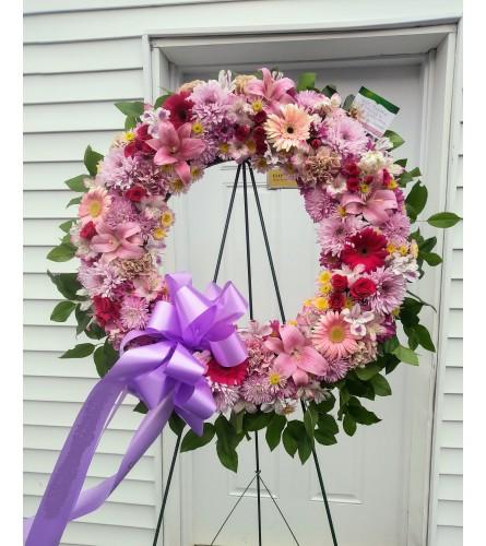 Endless Love Wreath.