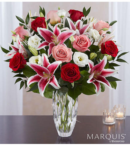 Marquis by Waterford Blushing Rose & Lily