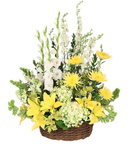 Prayerful Whisper Funeral Flowers