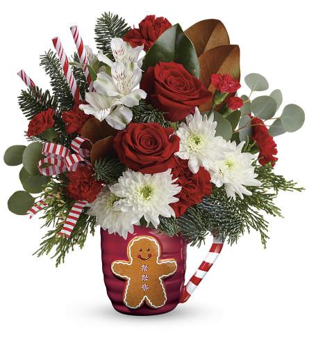 Gingerbread Man Greeting