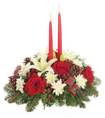 Holly Jolly Christmas Centerpiece
