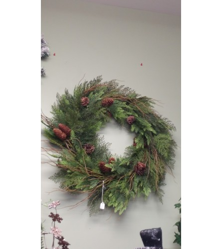 Artificial Holiday Wreath