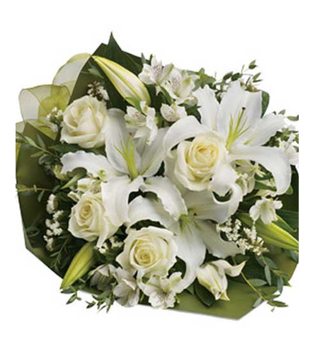 Simply White Cut Flowers