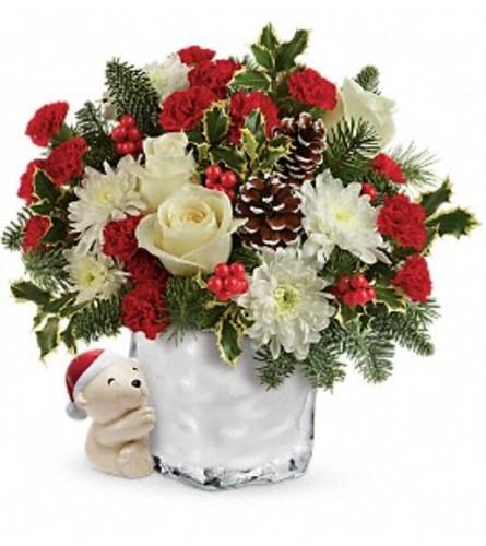 Polar Bear Hug Bouquet