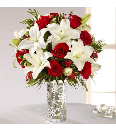 Holiday Elegance Vase