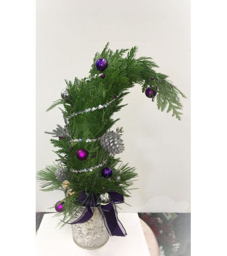 Assorted Whoville Tree arrangement