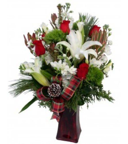 Christmas Arr in a VASE