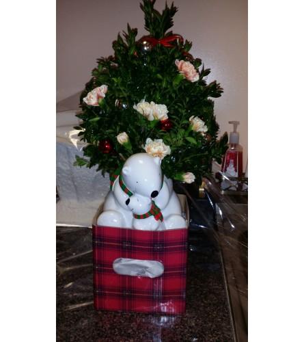 Christmas Bears Arrangement