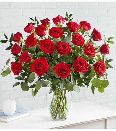 Heart's Desire Roses Two Dozen