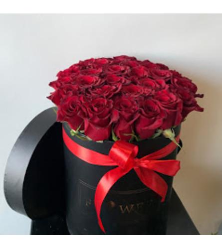 Blooming Rose Box 18 or 24 Roses