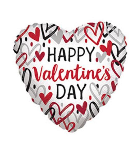 "17"" Heartbreaker  Happy Valentine's Day Balloon"