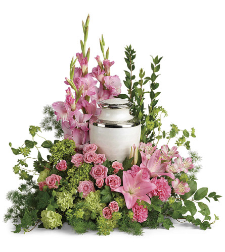 Teleflora Sacred Solace Cremation Tribute