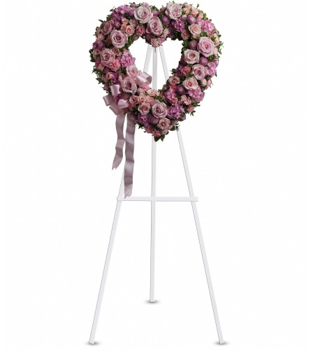 Teleflora Rose Garden Heart