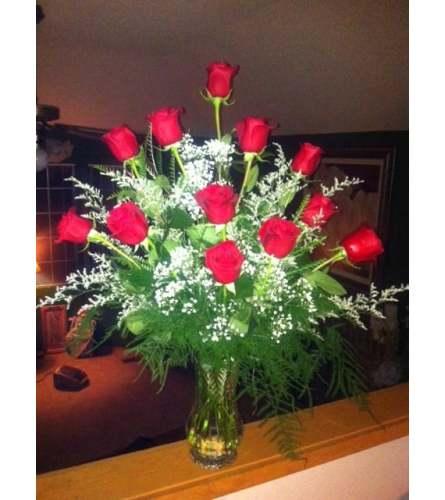 Designer Red Roses