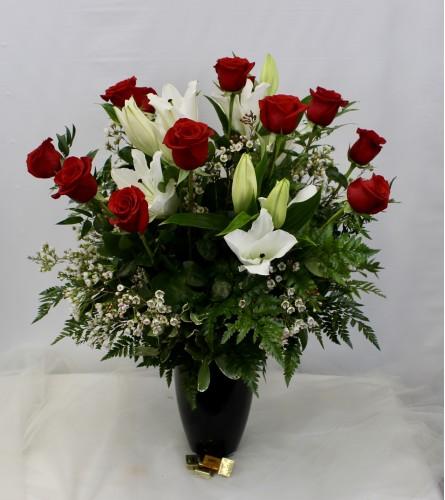 Dozen Red Roses-Premium