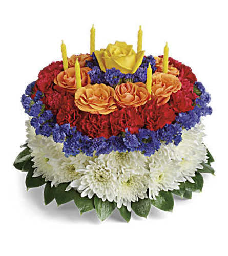 Your Wish is Granted Birthday Bouquet Deluxe