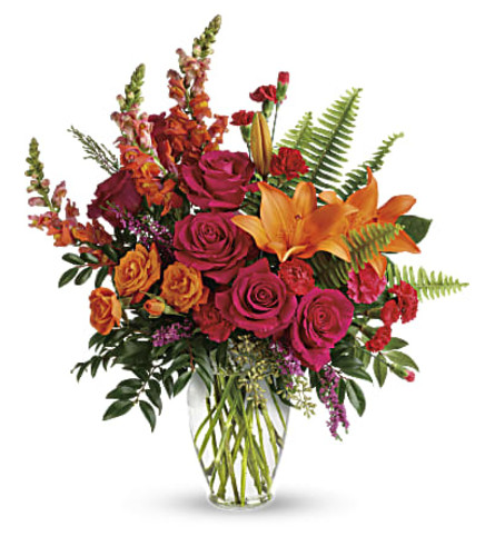 The Punch Of Color Bouquet