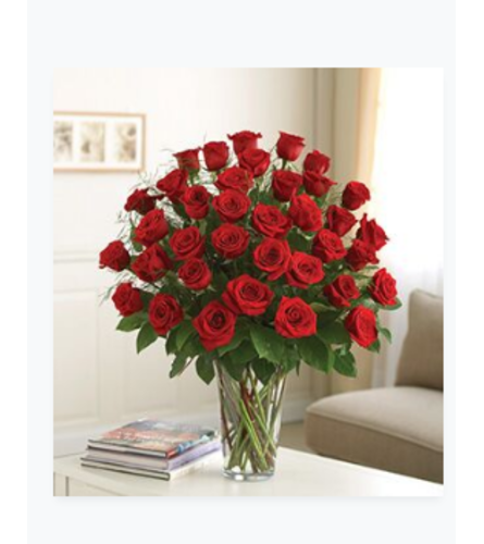 3 Dozen Rose Vase