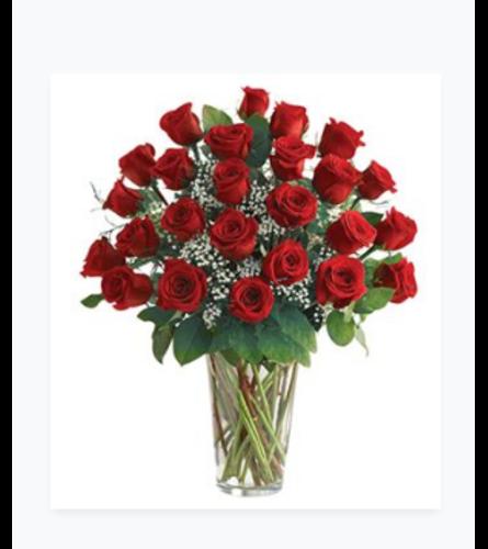 2 Dozen Rose Vase