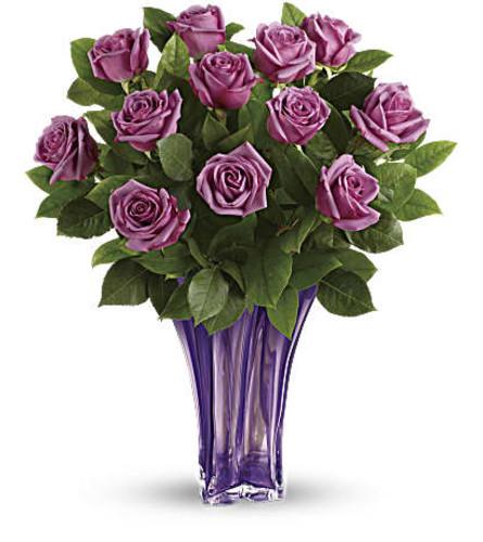 The Lavender Splendor Bouquet One Dozen