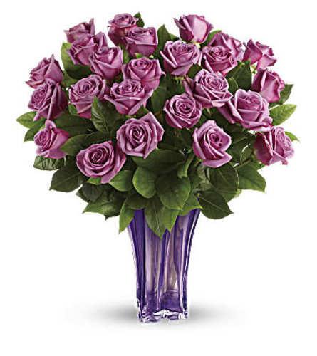 The Lavender Splendor Bouquet Two Dozen