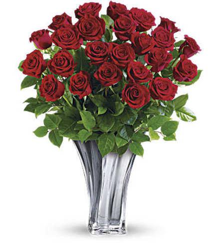 A Flawless Romance Bouquet Two Dozen