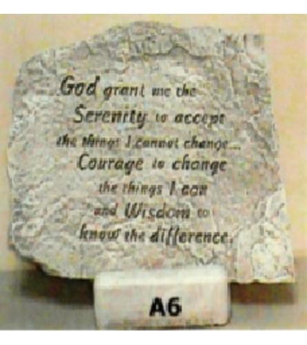 Stepping Stone - Serenity Prayer