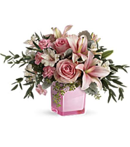 Fabulous Flora Bouquet in pink