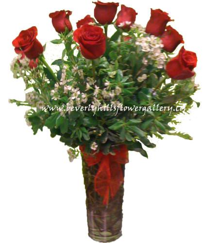 Dz. Long Stem Red Roses