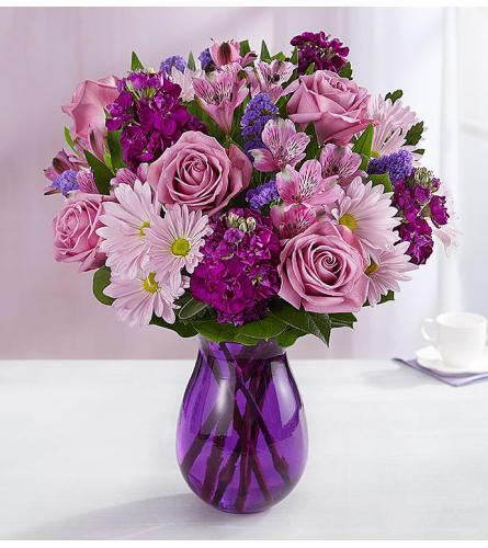 Lavender Dreams Vase