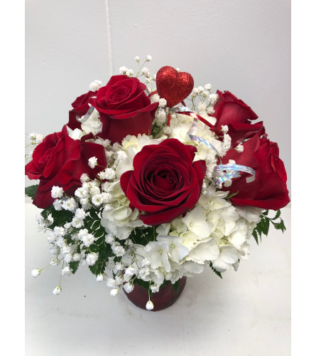 Red Roses for Mom
