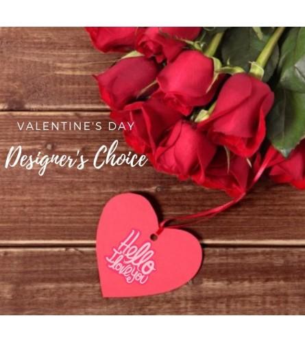 Valentine's Day Designer's Choice