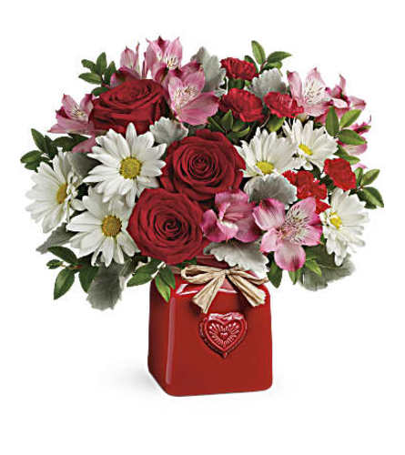 Country Sweetheart Bqt by Teleflora