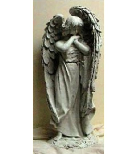 Statue - Angel With Big Wings