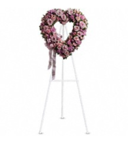 TRF238-2A Rose Garden Heart