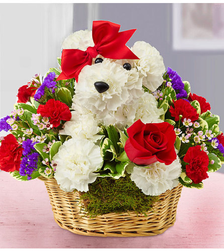 Love Puppy Basket