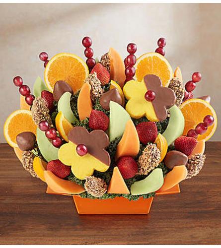 Abundant Fruit and Chocolate Tray