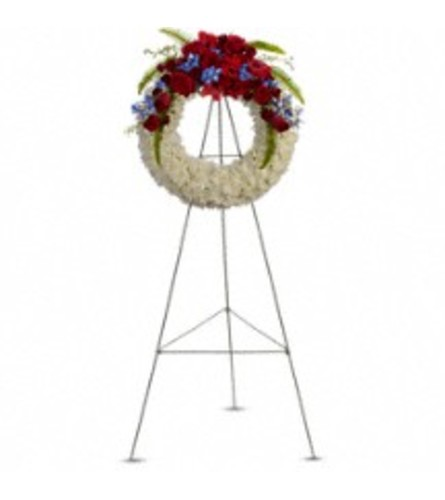 TRF241-1A  Reflections Of Glory Wreath