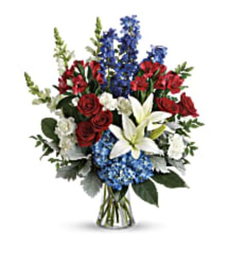 TRF282-2 Colorful Tribute Bouquet