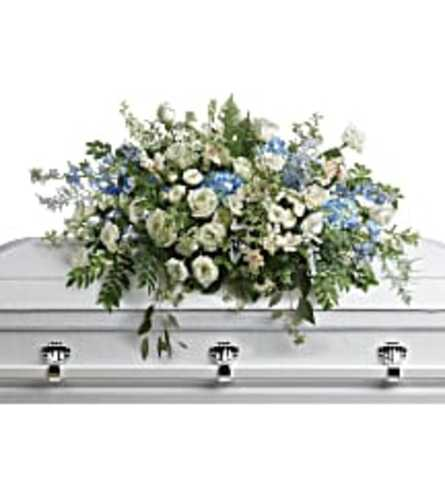 TRF283-6A Tender Remembrace Casket Spray