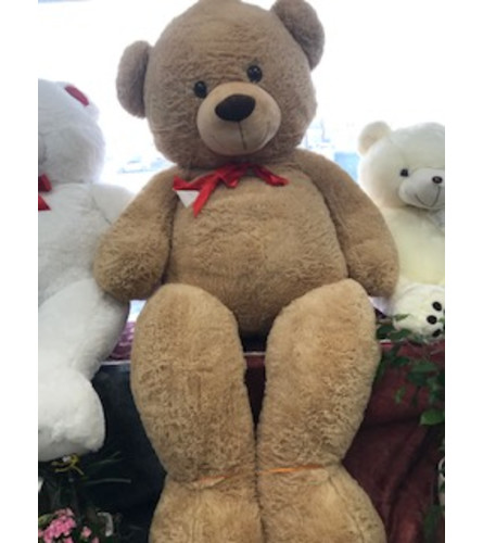 8 Foot Tall Jumbo Teddy Bear